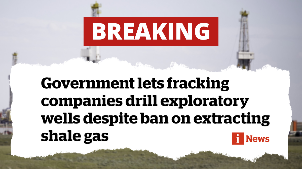 We cannot take the temporary ban on fracking seriously when the Tories are clearly signalling to fossil fuel companies that they can plan for fracking in the future. - @Wera_Hobhouse The Tories lack of ambition for environmental protection is an embarrassment.