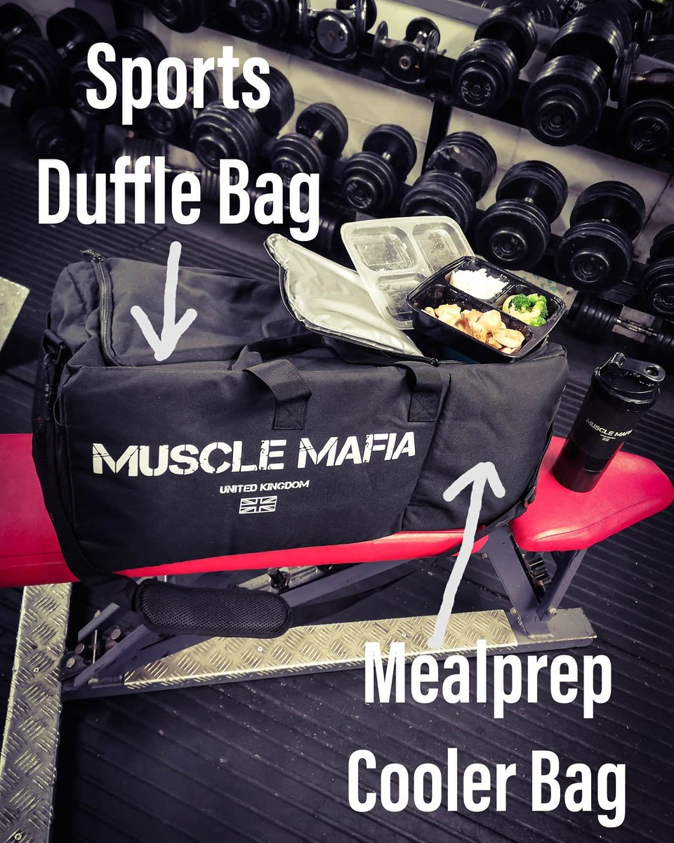 All In One Mealprep Sports Bag  More information @ http://www.musclemafiauk.co  #bodybuilding #fitness  #mealprep  #healthyeating #sportsbag #gym #diet #mealprepping #mealprepdaily  #mealprepbag #strongman #strengthtraining #weightraining #mondayworkout #mealplanningpic.twitter.com/6TD5HHt1wJ