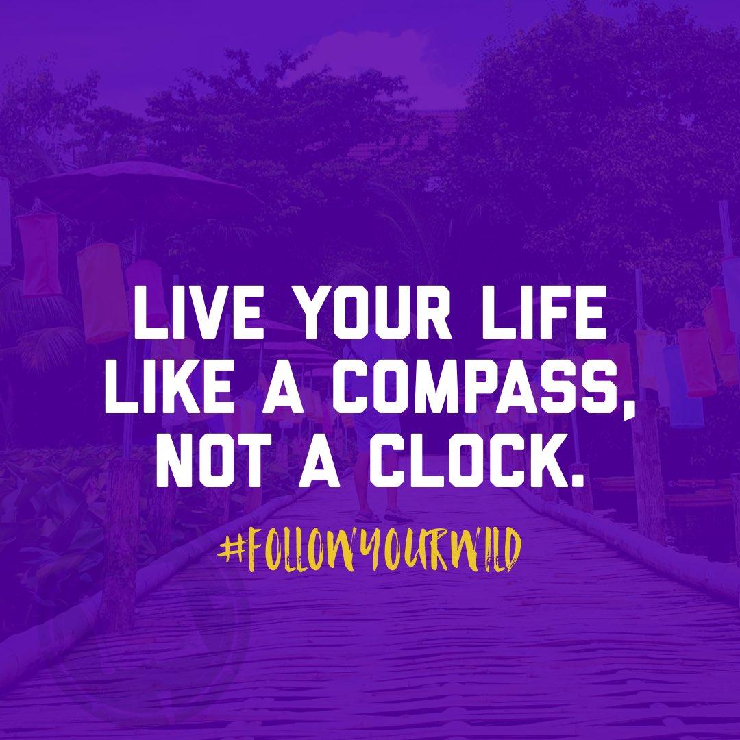 """Live your life by a compass not a clock."" – Stephen Covey #adventuretravel #travelthrworld #traveladdict"