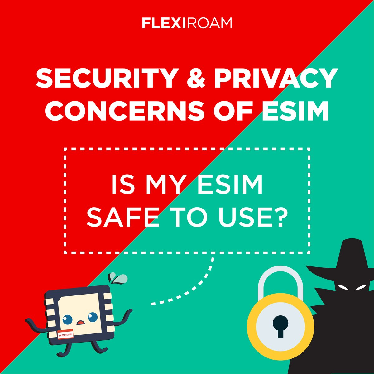New form of innovation sometimes left us wondering about its security. The same goes for eSIM.  eSIMie is here to address the security and privacy concerns about eSIM.  Read more to find out!👇  #FLEXIROAMeSIMie https://t.co/aQQG08FbrE