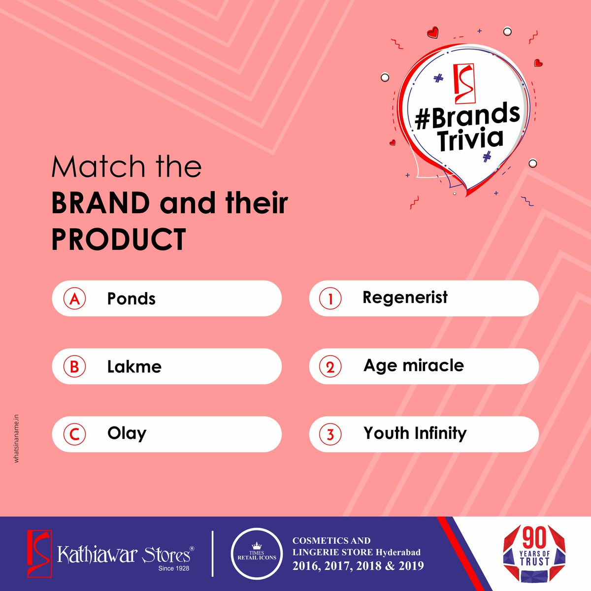 We're here again. Do you feel like winning?Let's find out.Match the right brands and their respective products, and post your sequence in the comments.The right answer will get a Gift voucher worth Rs.2000 Head our to Instagram page to participate  #Contest