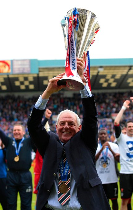 Happy Birthday Sir Walter Smith
