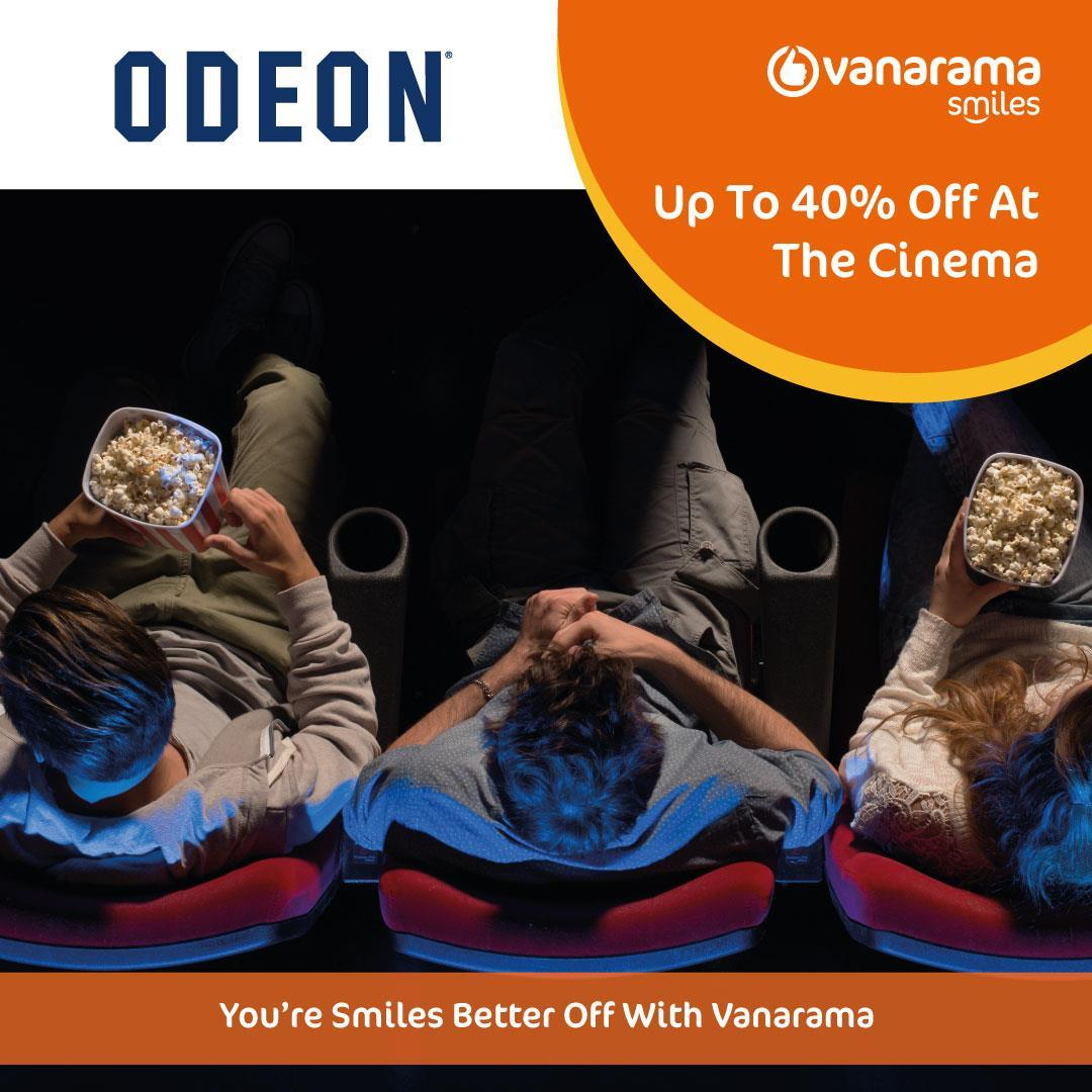 Attention all Vanarama customers! Sign up to our new rewards platform today to claim up to 40% off cinema tickets all year round. That's right, this means you can go to the cinema whenever you want & have spare change for an extra serving of popcornhttps://bit.ly/37L3vkFpic.twitter.com/vHM8DyU7Q3