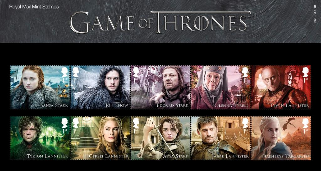 Our stunning #GameOfThrones stamps come off sale on 28 February, so this is your last chance to collect! Explore the collection at  http:// ms.spr.ly/6015Tbuhz      - #ForTheThrone #GoT<br>http://pic.twitter.com/pWJA6MqYYo
