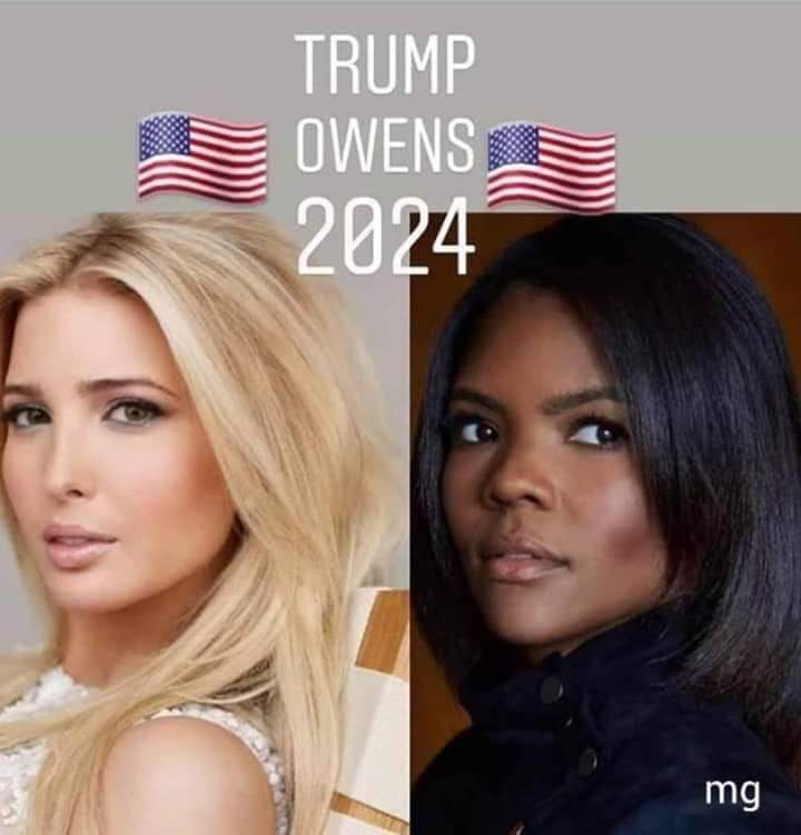 RETWEET if you would vote for #TrumpOwens2024 Man, would that rock Democrat's world. Republicans with the first woman President, first woman Vice President and first African American Vice President, all in one fell swoop!  #MAGA #FoxNews #MondayMotivation #MondayMorning <br>http://pic.twitter.com/XitCcmyZ5r
