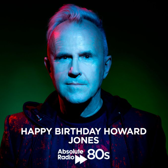 A very Happy Birthday to Mr Howard Jones from everyone at