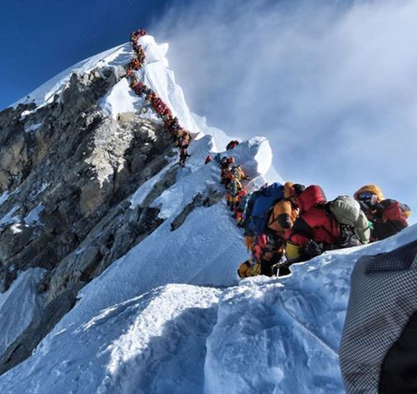 How Mount Everest Became A Multimillion-Dollar Business - #adventuretravel  https://buff.ly/38TWP5j