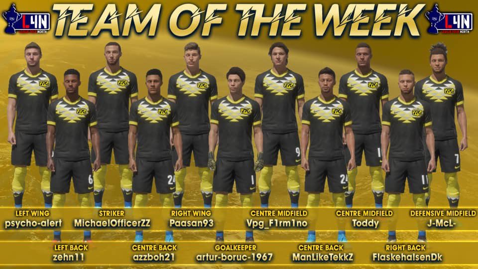 Even though the games weren't great the performances were for 3 of the U's. #VPG #TOTW