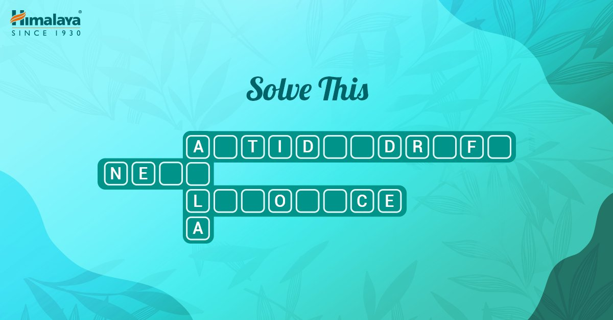 Up for a round of Sudoku? Here are the names of your favourite ingredients and products.  Go through the below hints and fill this up. Hint 1: #AbDandruffHatao Hint 2: A berry Hint 3: Anti-fungal properties Hint 4: Gentle Daily care protein shampoo  #HealthyHairKaVaada