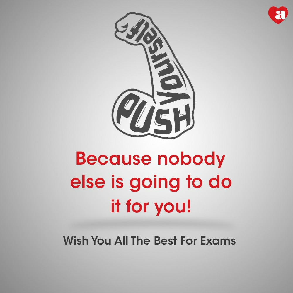 Push Yourself buddies! All the best ❤️  #ArchiesOnline #Exams #Goodluck