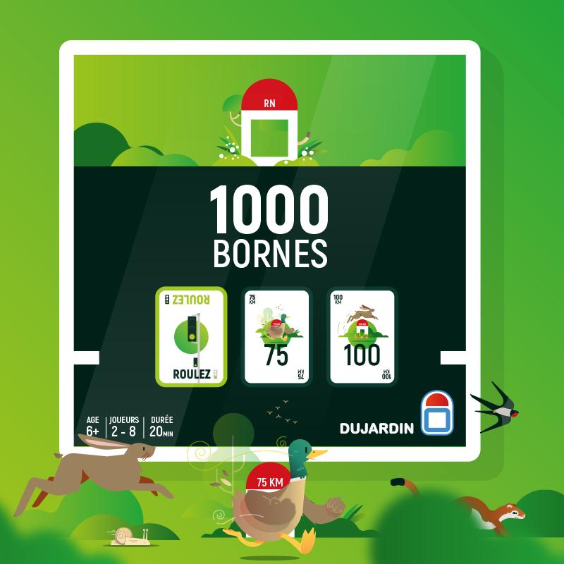 Et voilà la dernière étape du #rebranding du #1000bornes  la boite ou #packaging :) + toutes les cartes  https://www.instagram.com/p/B88ziVpiX_R/  #illustration #vector #jeudesociete  Like ou RT tjs apprécié ;) merci  poke @teocomparato @GeoffreyDorne  @skynebulapic.twitter.com/Nook7iiHnk