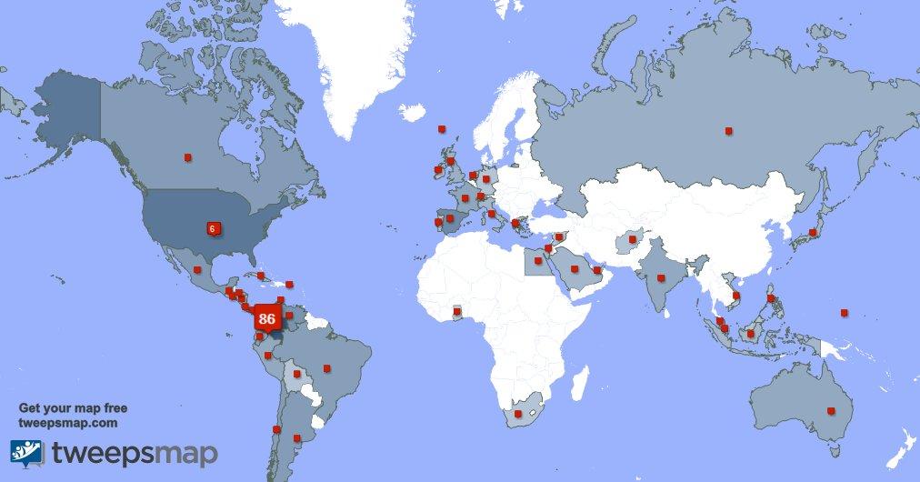 Tengo 191 nuevos seguidores, desde Colombia , Estados Unidos , y más durante la última semana http://tweepsmap.com/!luiscarlosfvpic.twitter.com/zceSMCjOZT