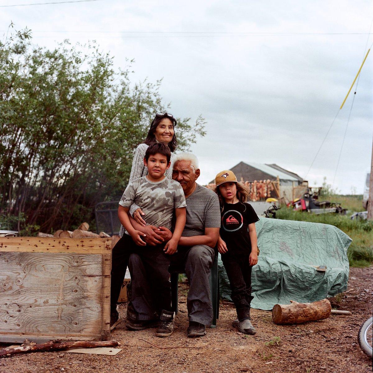 Image for the Tweet beginning: Alaskan Inuit photographer Brian Adams