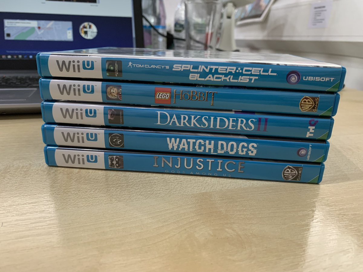 Latest delivery today.... Another 5 ticked off. Need to do a count up and see where I am. Plenty not shown on here and reckon approaching 60 now. Still so far to go #nintendowiiu #gamersunitepic.twitter.com/OnIIO58GjO