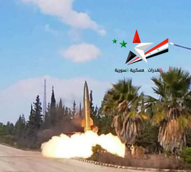 #SAA OTR-21 Tochka ballistic missiles launched on militants and possibly TSK #Turkey soldiers today.