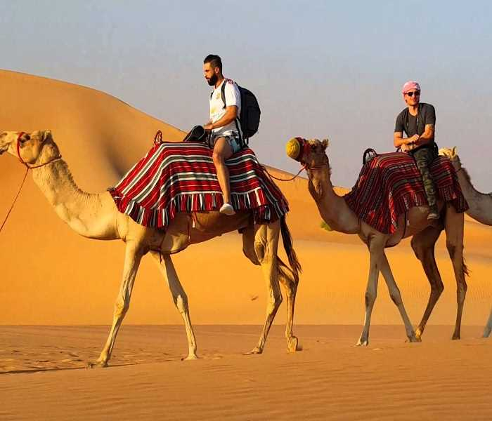 Dubai, mainly renowned for its great infrastructure, is also known for its adventurous streak. At the heart of Dubai is still its desolated desert. And so, to enjoy the desert a bit more effectively, the city presents various Desert Safari options#desertsafari #dubailife #Dubaipic.twitter.com/IU62qAYJmc