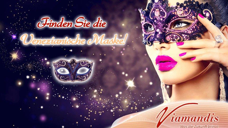 SUCHAKTION bei http://www.viamandis.de   Finden Sie die Venezianische Maske auf unserer Webseite!  Sie versteckt sich irgendwo in den Beraterprofilen.  #Karneval #Kartenlegen #Hellsehen #Wahrsagen #Gratisgespräch #Aktion #Suchaktion #Astrologiepic.twitter.com/nWwJKoQ4fR