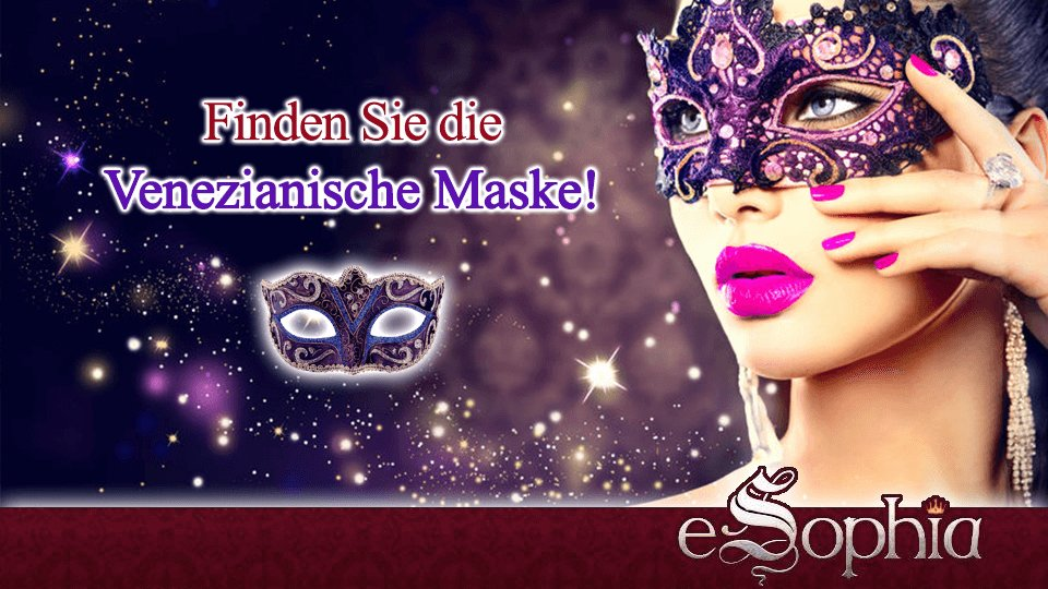 SUCHAKTION bei http://www.eSophia.de   Finden Sie die Venezianische Maske auf unserer Webseite!  Sie versteckt sich irgendwo in den Beraterprofilen.  #Karneval #Kartenlegen #Hellsehen #Wahrsagen #Gratisgespräch #Aktion #Suchaktion #Astrologiepic.twitter.com/qP3Fi8wIP9