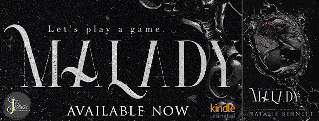#NewRelease #KindleUnlimited  Malady (Deviant Games #2) by Natalie Bennett ➜ is available now on #Amazon #OneClick today. Check out Lita T's Review! @AuthorNBennett http://tastywordgasms.com/2020/02/24/%e2%98%a0%ef%b8%8f-newrelease-kindleunlimited-%e2%98%a0%ef%b8%8f-malady-deviant-games-2-by-natalie-bennett-%e2%9e%9c-is-available-now-on-amazon-oneclick-today-check-out-lita-ts-review-aut/ …pic.twitter.com/FunebcwO88