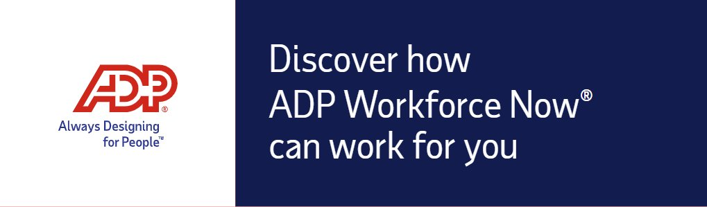 Reduce errors and save time with the power of Workforce Now's single database design, enabling you to enter data once and see it work everywhere across your entire HCM system! http://bit.ly/32kzjf6 pic.twitter.com/EA3xZdTYly