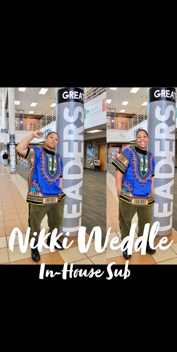DMLK's Black Excellence ✊🏾 Today we highlight our relentless In-House Sub, Nikki Weddle. Read her bio below.