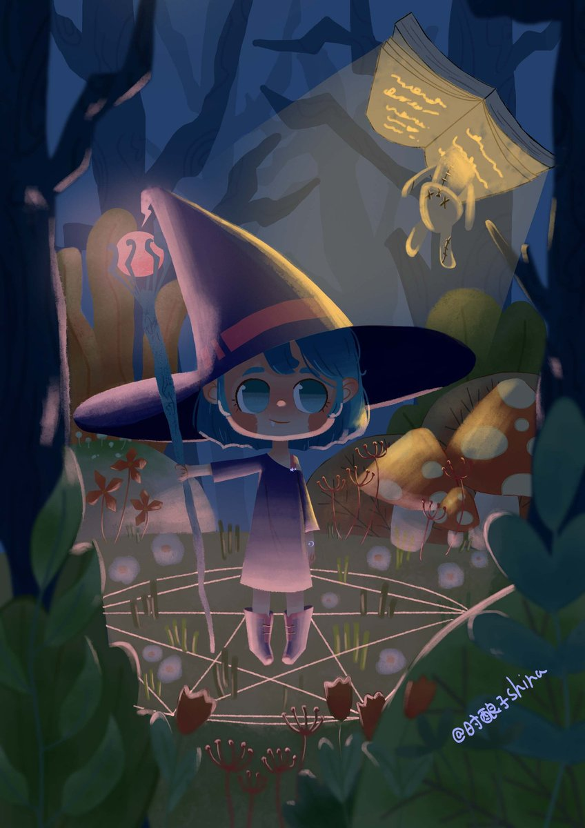 Here comes the little witch✨  #drawing #paint #illustrations #illustrationart #illustrationartist #Children #childrensbook #childrensbooks #witch #hag #goodnight #girl #cute #color #coloringbook #happy #HappyDay #Like #like4like #likeforlike #love