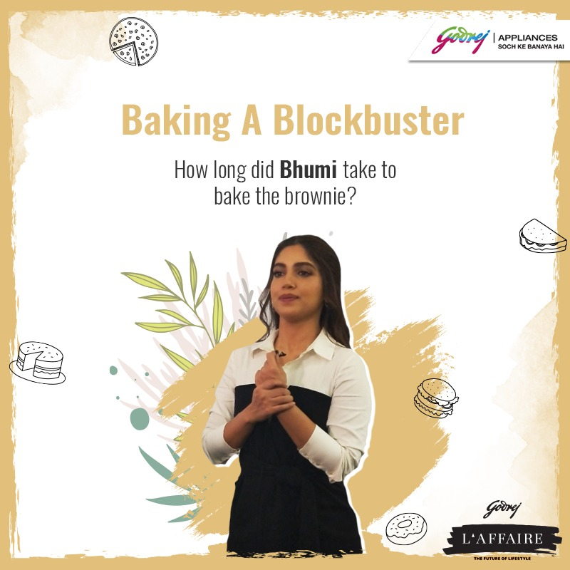 #ContestAlert! (2/3) Win exciting vouchers by answering these questions! Want a little help? Watch the live video of @bhumipednekar Baking A Blockbuster @godrejlaffaire here: http://bit.ly/3c6hvc7  #StartAHealthyHabit