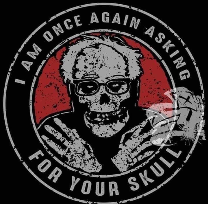 #misfits #FeelTheBern #skulls