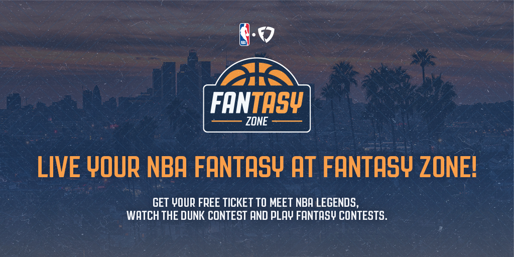 We've partnered with the NBA to bring you the @FanDuel FANtasy Zone 🏀  📍 City Market Social House, Los Angeles 📅 March 13 ⌚️ 10 AM - 6 PM  FANtasy Zone is FREE to attend. Get more information and tickets here: