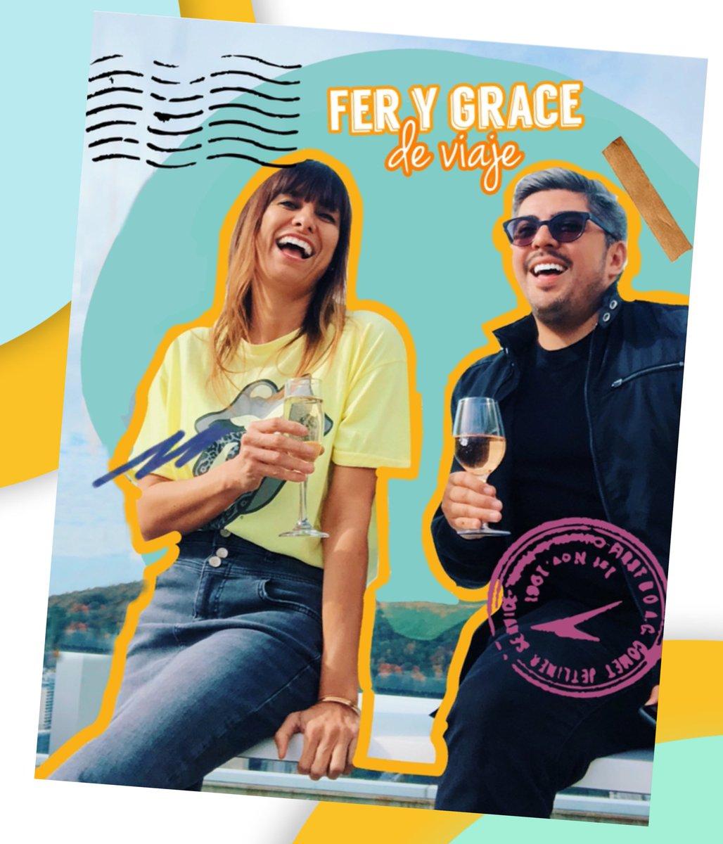 Amigooooos, el @fernando_velam y yo tenemos podcast por fin!! Se que morian por oírlo, pues ya llego! Todos los secretos de viaje que tenemos, lo que hemos vivido, aciertos y errores en un podcast #GraceyFerDeViaje escuchen please, si les gusta RT 🙏🙏🙏