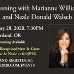 Image for the Tweet beginning: Marianne Williamson and Neale Donald