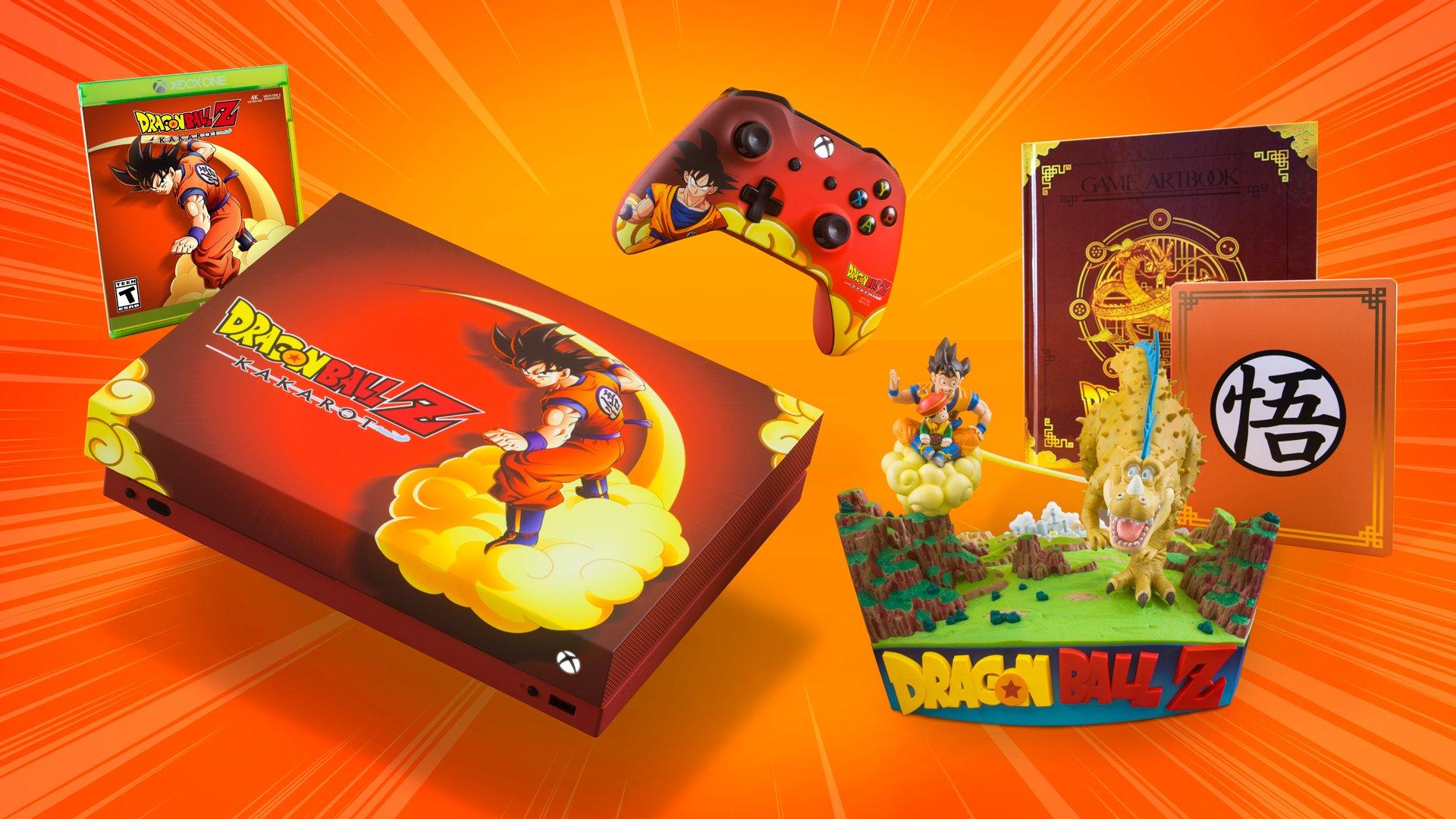 Xbox ra bản máy chơi in hình DRAGON BALL Z: KAKAROT