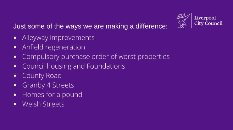 #Housing   LCC has a range of policies, strategies and interventions to combat poor housing and build confidence in our communities.   #localgov #Liverpool