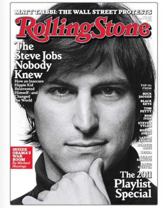 Happy birthday, Steve Jobs