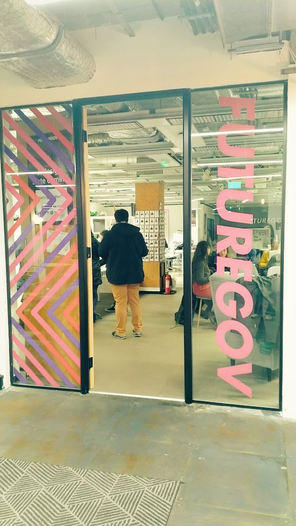 I'm @FutureGov tonight, speaking at @codebar monthlies 😀 about Tech Conferences For The Uninitiated. My old pal @binaryberry is here too 🤩  #womenwhocode #womenintech #womeninstem #codebar #codebarmonthlies #meetup #techtalk