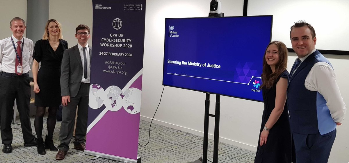 Tonight we kick off the first of the three-day cyber security workshops for Commonwealth Parliamentary Association UK @CPA_UK 🔐#CPAUKCyber 🙌 https://t.co/Jlez4gkOUp