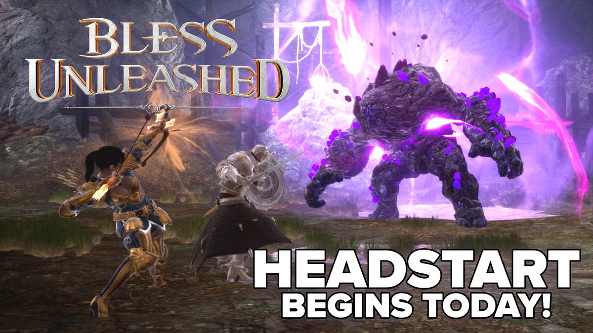 Become a Founder to Play Dangerously in Bless Unleashed today! blessunleashed.com/packs
