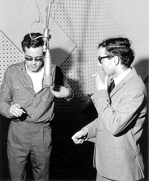 Michel Legrand, #BOTD in 1932, with Jean-Luc Godard.