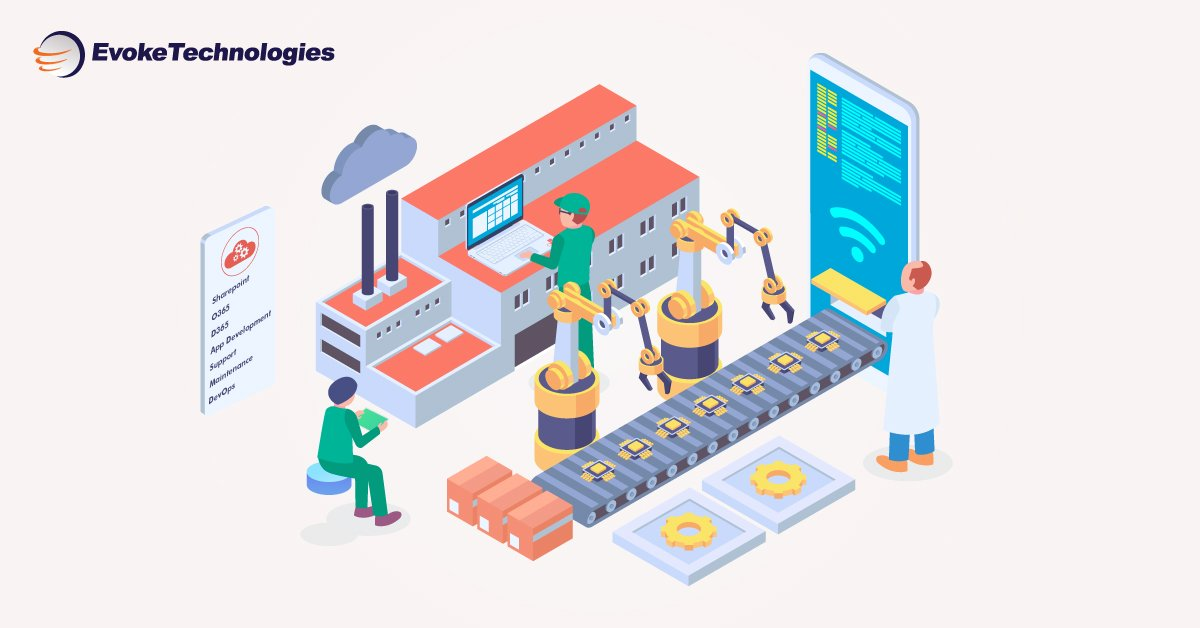 Exhilarate your clients with latest #technologies in machines With #Cloudfirst approach, our all services include #Sharepoint #O365 #D365 #AppDevelopment, #support and #maintenance #DevOps https://hubs.ly/H0n7WW00 #Evoke #EvokeTechnlogies #Cloud #AppDev #Microsoft #MS #ML #AI #RPA