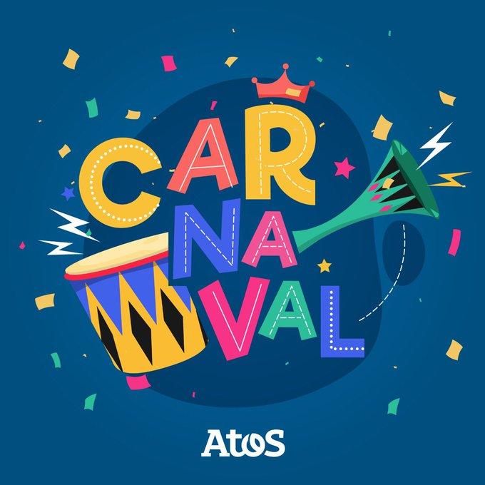 🥁¡Feliz Carnaval! 🥳🥳De parte de todo el equipo de Atos Argentina🇦🇷 te deseamos...