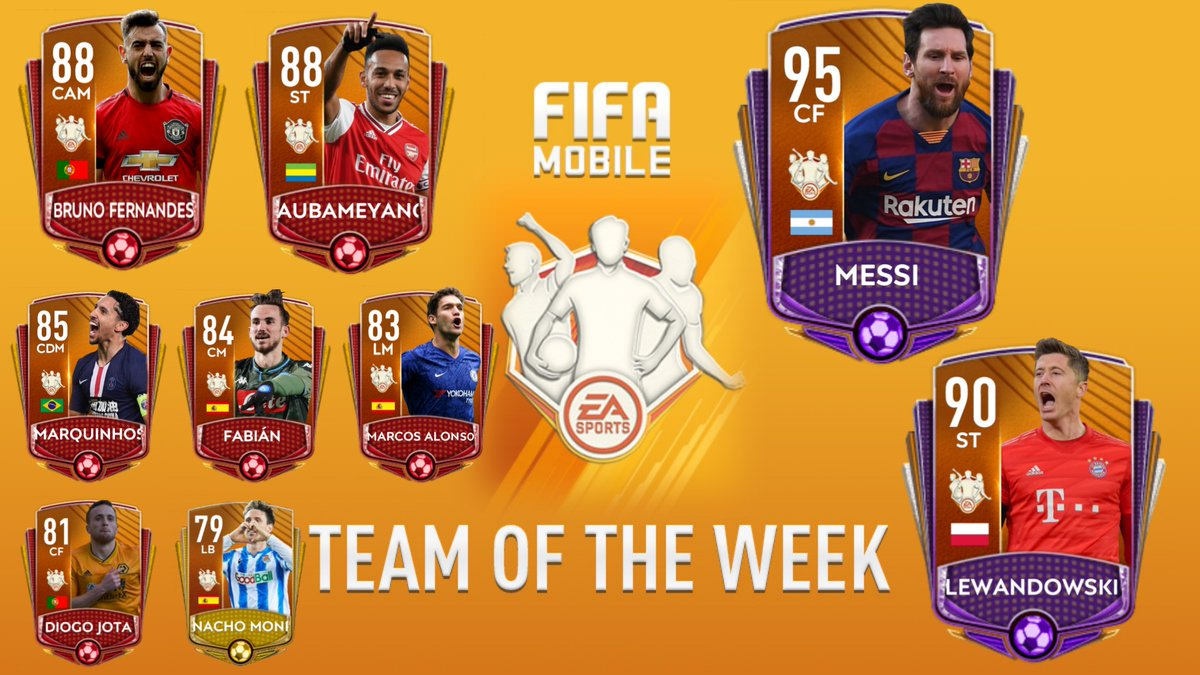 @EAFIFAMOBILE TOTW 21- Predictions and Design  #TOTW #FIFAMobile