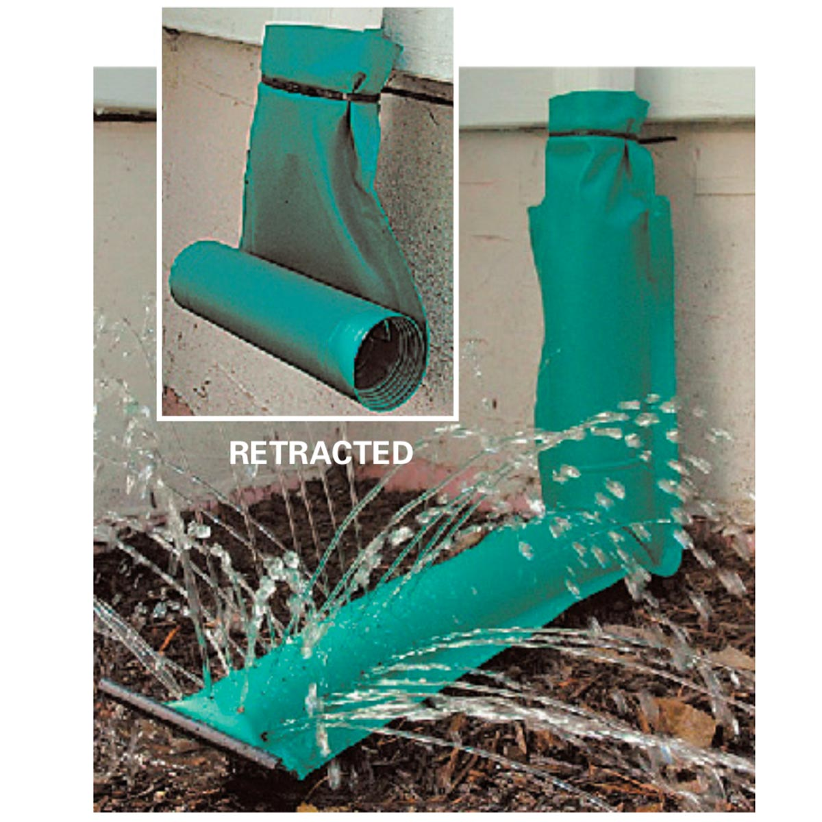 Move water away from the foundation of your house with this unique downspout. #hometips #maintenance  http://cpix.me/a/92463417