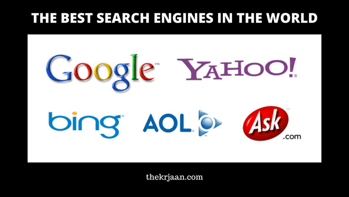 Search Engines | The Best Search Engines In The World