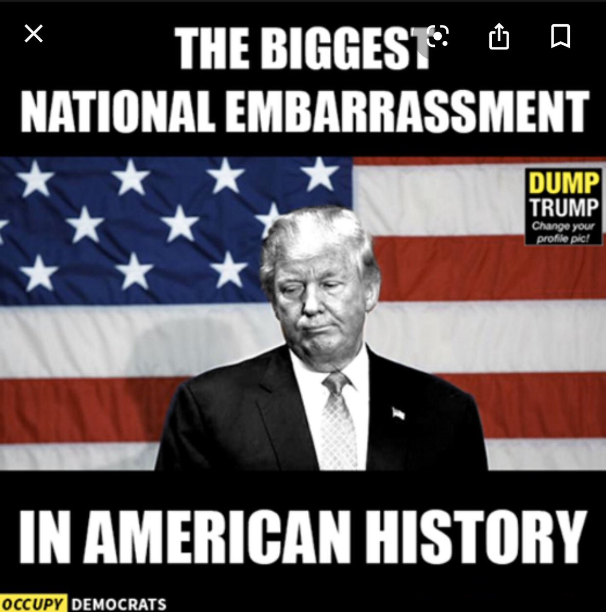 """#MondayMorning #mondaythoughts #MondayMotivaton It's """"AnotherMonday"""" & No one cares to hear abt. Ant-Christ Trump period/ #TrumpIndiaVisit """"Serve the Lord"""" say Evangelicals 4Trump who brag abt. Grabbing Pus*y &Colluding #TrumpInIndia what an Embarrassment👋🏾"""