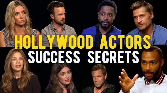 Hollywood Actors Share Their Success Secrets http://ow.ly/aV3n30qk8yc #Hollywood #acting #actorslife #entertainmentbiz