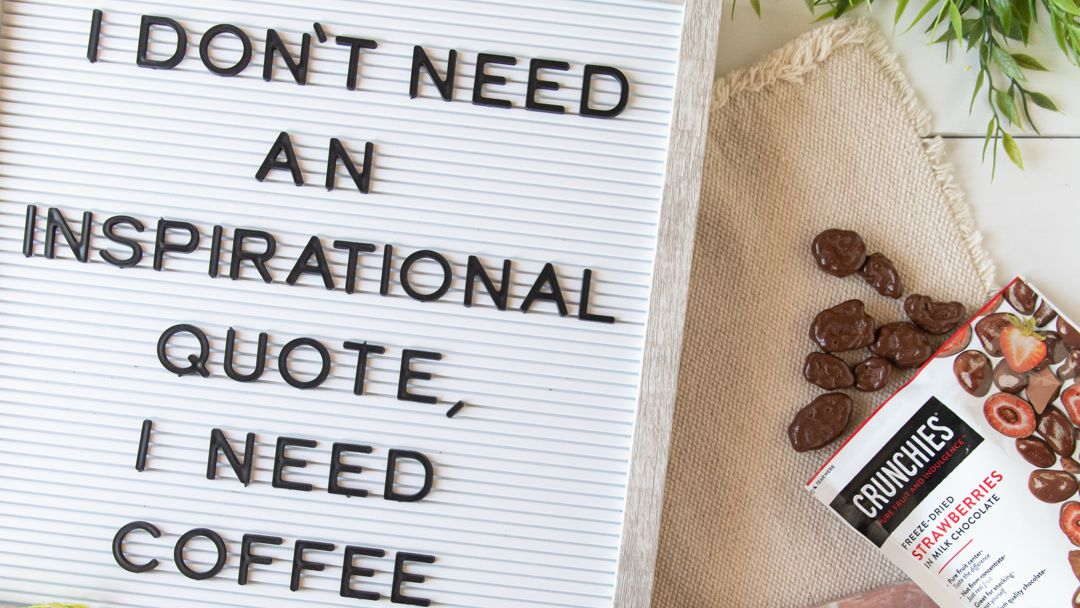 It can be hard to find #motivation on Monday mornings, but that's why #coffee exists. Hope you have a great week! #MotivationMonday ☕