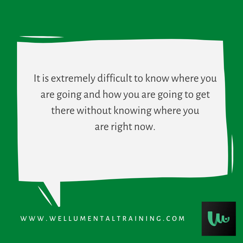 #SelfAwareness is the beginning in pursuit of all goals. As you start this week, work on being presently aware and consider jumping into the #WellUApp to do some mental training.  #MotivationMonday #MentalWellness #MentalHealth #MentalTraining #Mindfulness
