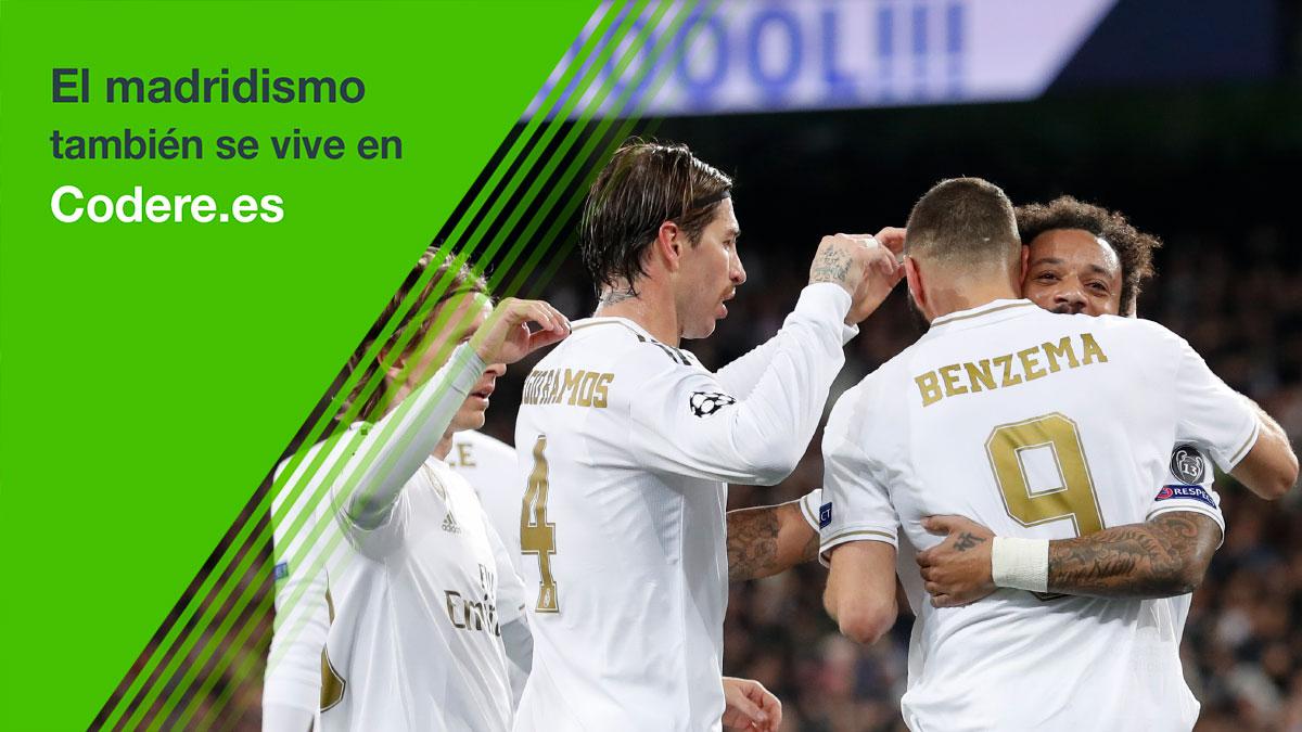 ☑️ ¡La respuesta correcta es 4⃣! 👏 ¡Enhorabuena a todos los que habéis acertado! ⚽ El fútbol también se juega en http://codere.es @CodereApuestas | #HalaMadrid