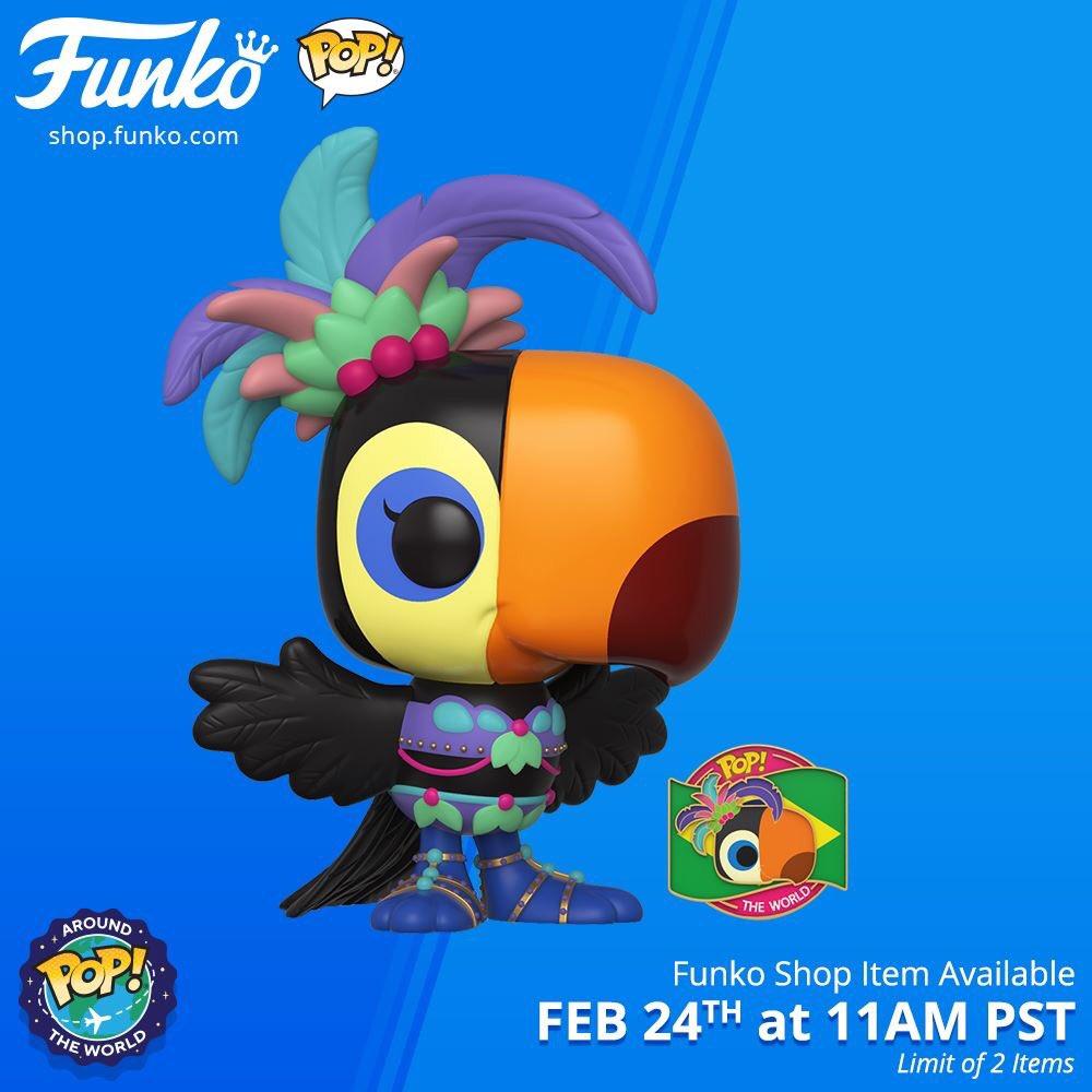 Funko Shop Item: Pop! Around the World: Tula (Brazil)