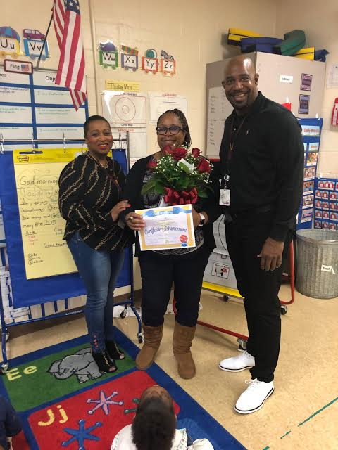 Another award winner!   Congratulations to Shalise Brown at Woodson Elementary, who won Rookie Teacher of the Year. We are so proud of her accomplishment and hard work this year.  #texasteacher #rookieoftheyear #texas #teacher #teachercertificationpic.twitter.com/Of7LI6xwnj